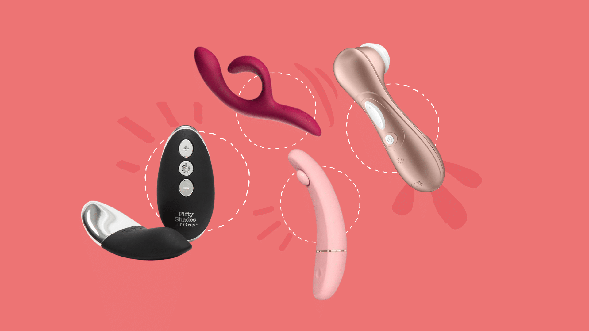 Feature images, leiser Vibrator