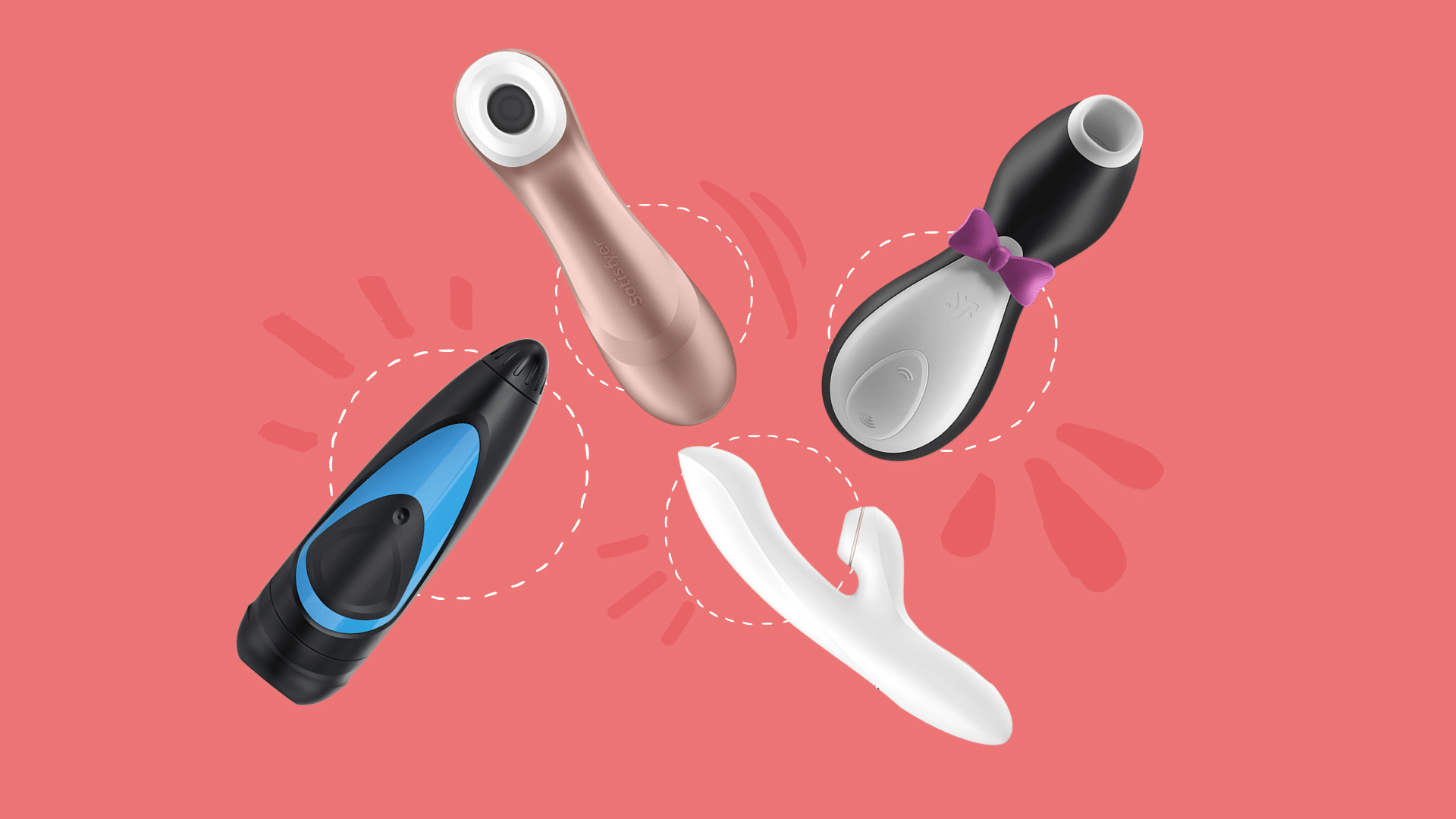 Feature images, Satisfyer